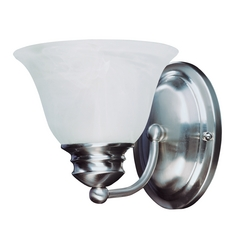 Maxim Lighting Malaga Satin Nickel Sconce