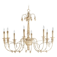 Quorum Lighting Salento Persian White Chandelier