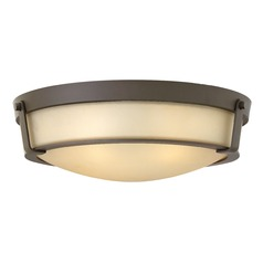Hinkley Lighting Hathaway Olde Bronze LED Flushmount Light