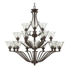 Hinkley Bolla 3-Tier 18-Light Chandelier in Olde Bronze