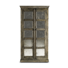 Currey and Company Lighting Cabinets / Storage / Organization in Natural/black Patina Finish 3017