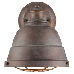 Golden Lighting Bartlett Copper Patina Sconce