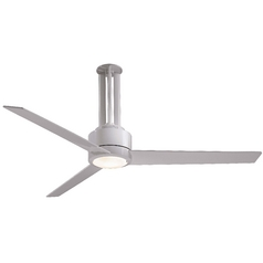 Minka Aire Fans 56-Inch Ceiling Fan with Three Blades and Light Kit F531-WH