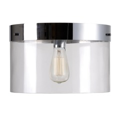 Kenroy Home Capri Chrome Flushmount Light