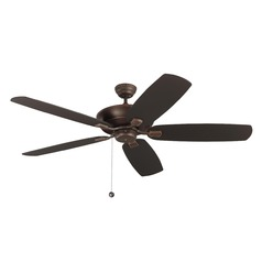 Monte Carlo Colony Super Max Roman Bronze Ceiling Fan Without Light