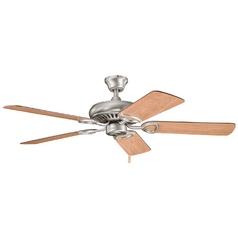 Kichler Ceiling Fan Without Light in Antique Pewter Finish