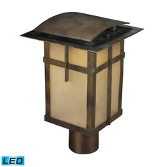 Elk Lighting San Fernando Hazelnut Bronze LED Post Light