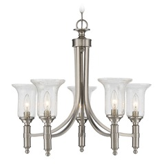 Savoy House Lighting Trudy Satin Nickel Chandelier