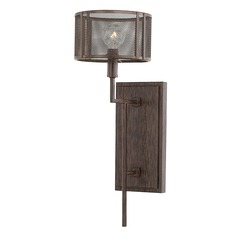 Industrial Sconce Bronze Bennett by Capital Lighting
