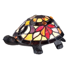 Quoizel Turtle Tiffany Lamp