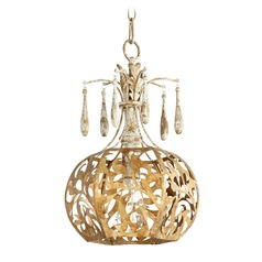 Quorum Lighting Leduc Florentine Gold Pendant Light