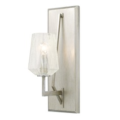 Capital Lighting Arden Brushed Silver Sconce