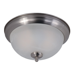 Maxim Lighting Flush Mount Ee Satin Nickel Flushmount Light