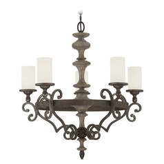 Savoy House Lighting Strathmore Century Bronze Chandelier