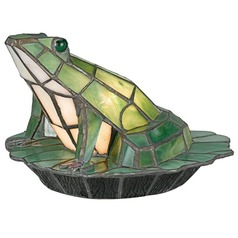 Quoizel Tiffany Frog Accent Lamp