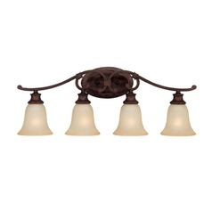 Capital Lighting Hill House Burnished Bronze Bathroom Light