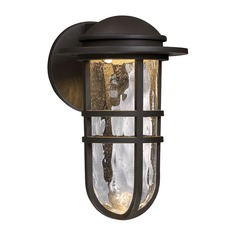 Steampunk LED Outdoor Sconce