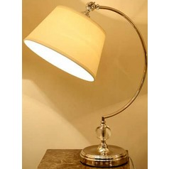 Lite Source Dickens Antique Brass Table Lamp with Empire Shade