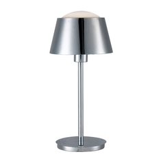 Modern Table Lamp in Chrome Finish