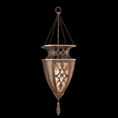 Fine Art Lamps Villa 1919 Umber with Gilded Accents Pendant Light