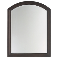 Modern Country Arched 24-Inch Mirror