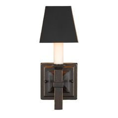 Golden Lighting Bradley Cordoban Bronze Sconce