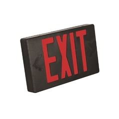 Exit Sign - Black Finish