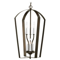 Progress Bronze Lantern Pendant Light