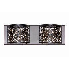 Inca Polished Chrome Bathroom Light