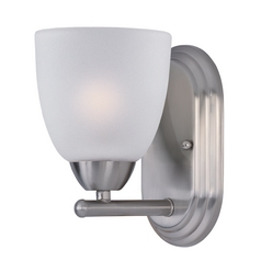 Maxim Lighting Axis Satin Nickel Sconce
