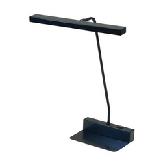 LED Piano / Banker Lamp in Black Finish