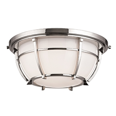 Hudson Valley Lighting Conrad Polished Nickel Flushmount Light