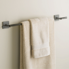 Hubbardton Forge Lighting Beacon Hall Dark Smoke Towel Bar