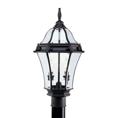 Livex Lighting Fleur De Lis Bronze Post Light