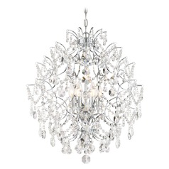 Minka Lavery Isabella's Crown Chrome Crystal Chandelier