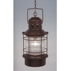 Hyannis Burnished Bronze Outdoor Hanging Light by Vaxcel Lighting