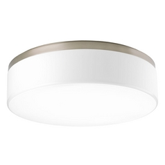 Progress Lighting Maier Brushed Nickel Flushmount Light