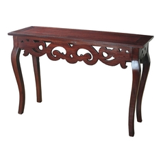 Sterling Lighting Mahogany Sofa Table