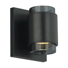 Tech Voto Black LED Sconce