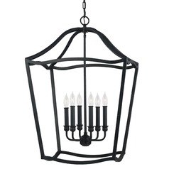 Feiss Lighting Yarmouth Antique Forged Iron Pendant Light