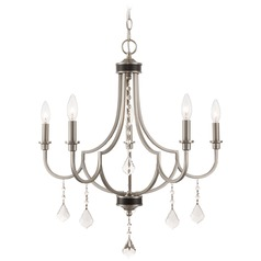 Livex Lighting Glendale Brushed Nickel Chandelier