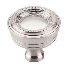 Cabinet Knob in Brushed Satin Nickel Finish
