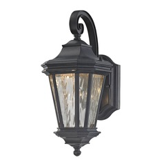 Lakeside Olde World Iron LED Outdoor Wall Light