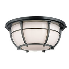 Hudson Valley Lighting Conrad Aged Zinc Flushmount Light