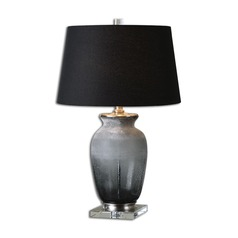 Uttermost Dionne Smoke Gray Table Lamp