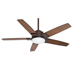 Casablanca Fan Co Zudio Industrial LED Ceiling Fan with Light