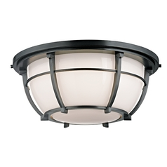 Hudson Valley Lighting Conrad Old Bronze Flushmount Light