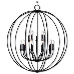 Livex Lighting Milania Bronze Chandelier