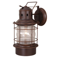 Hyannis Burnished Bronze Outdoor Wall Light by Vaxcel Lighting