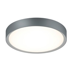 Arnsberg Clarimo Light Grey / Titanium LED Flushmount Light